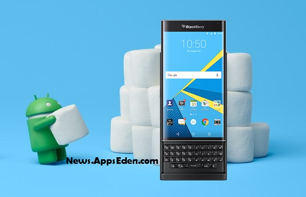 BlackBerry rolling out Android 6.0 Marshmallow update for PRIV