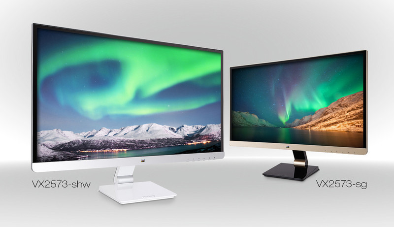 Stylish Full HD Multimedia Monitors from ViewSonic