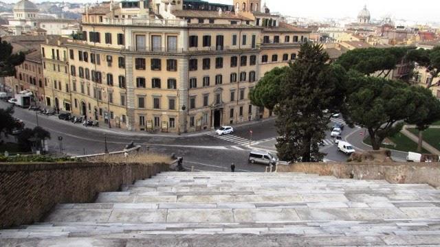 schody w Rzymie
