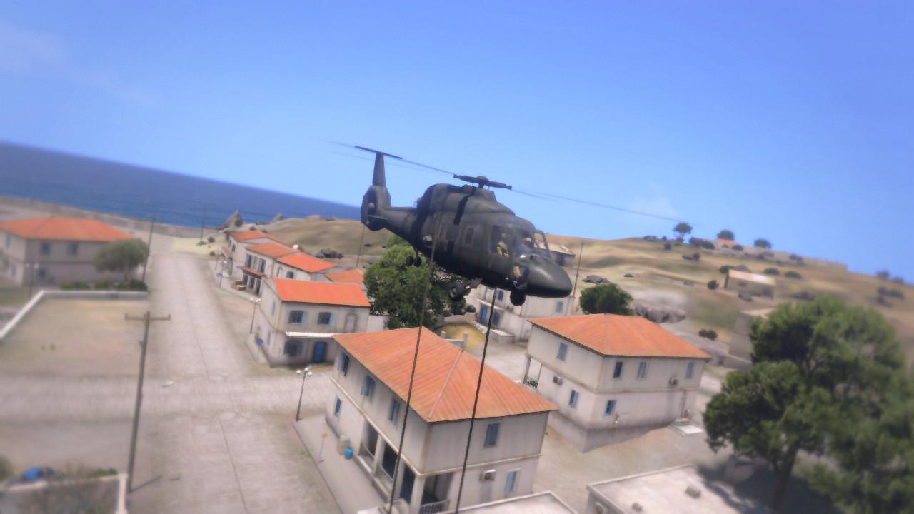 Arma 3 Elicottero : ヘリからのファストロープ スクリプトが公開 弱者の日記^^ arma modとアドオン紹介