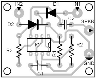 Parts-Placement-Layout-Signal-Light-Clicker