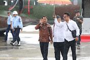 Mendagri Dampingi Kunjungan Kerja Presiden di Papua Barat