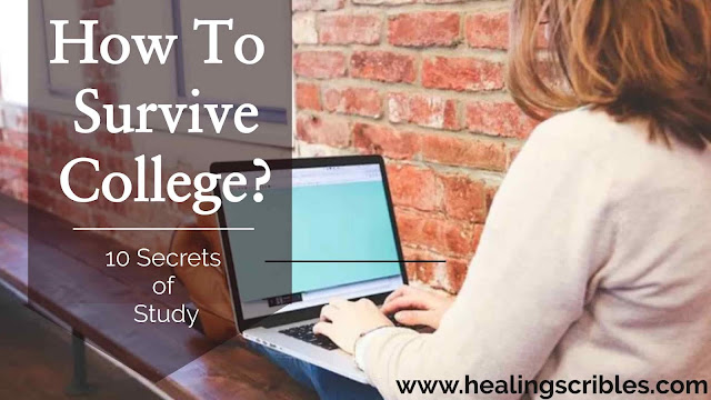 Secret of Success to Survive College | 10 Study Tips | Self Help