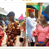 Man Tries To Pacify His Unhappy Bride, Duchess Alexis After Being Provoked At Their Wedding.PICS