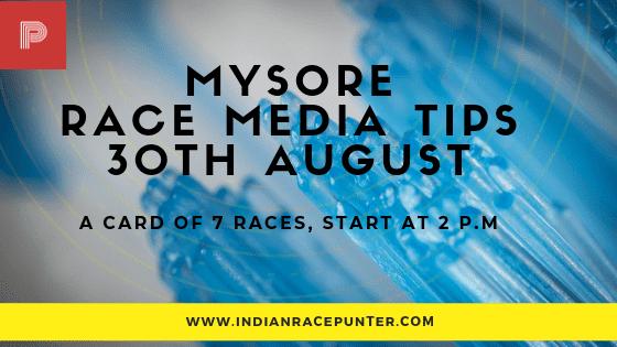Mysore Race Media Tips, free indian horse racing tips, trackeagle, racingpulse
