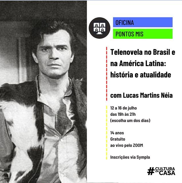 Estão abertas as inscrições para a Oficina Telenovela no Brasil e na América Latina : História e Atualidade