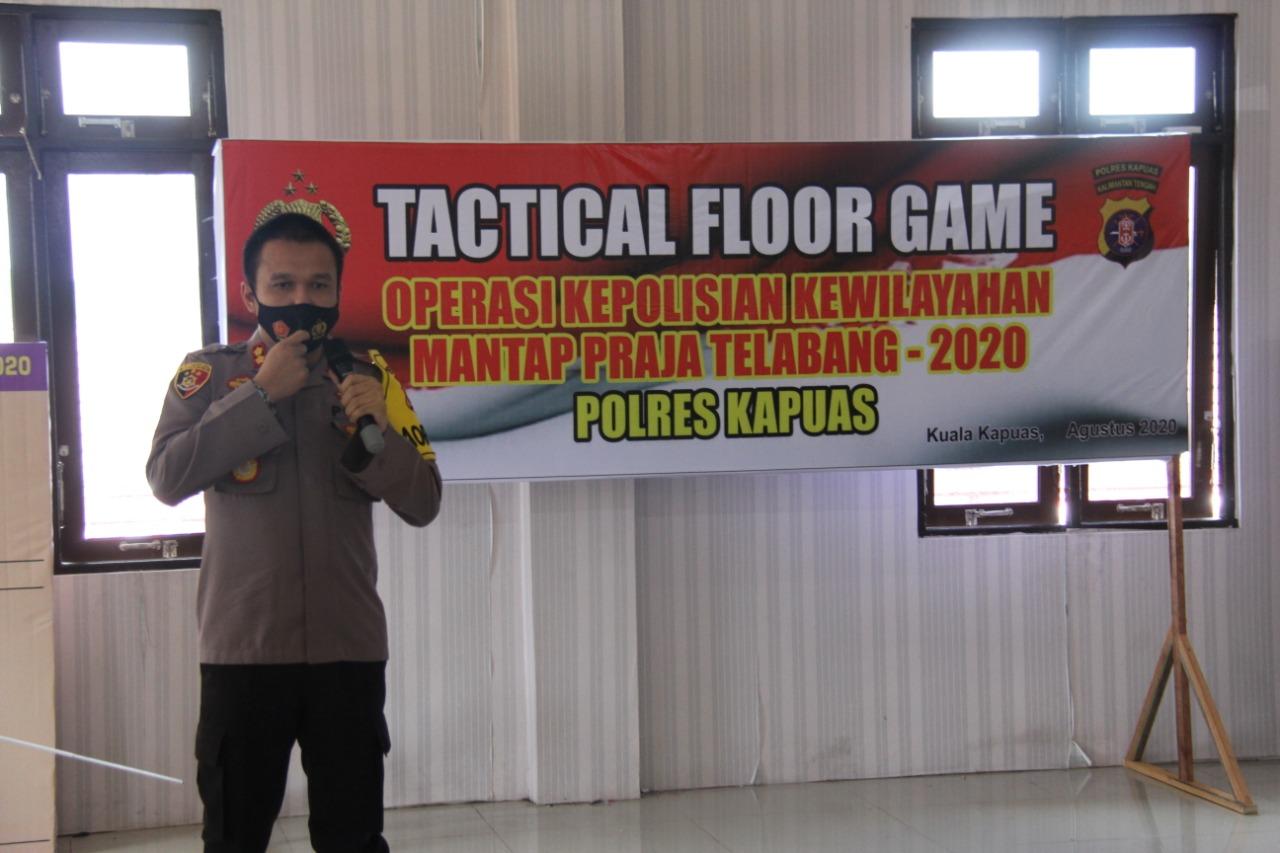 Polres Kapuas Gelar TFG, Pengamanan Pilkada Serentak 2020