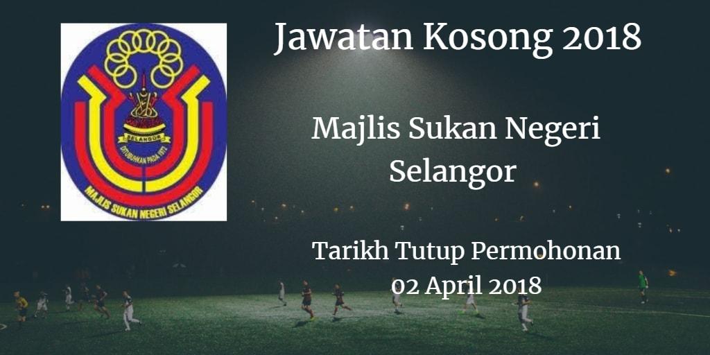 Jawatan Kosong MSN Selangor 02 April 2018