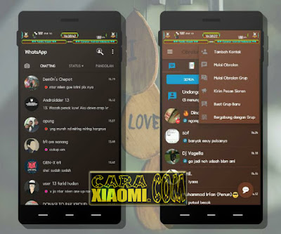 Link Download Tema MIUI And You One V1 For Xiaomi Android