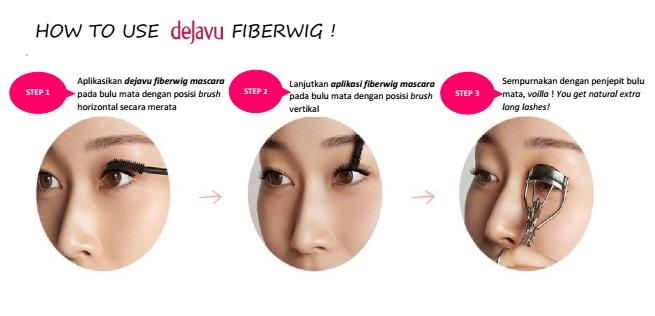 Thick Body and Thin Pocket  Review  Dejavu Fiberwig Mascara ... 61f70c7be6