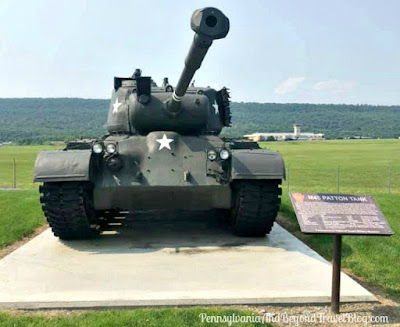 Patton Tank at the Pennsylvania National Guard Military Museum at Fort Indiantown Gap