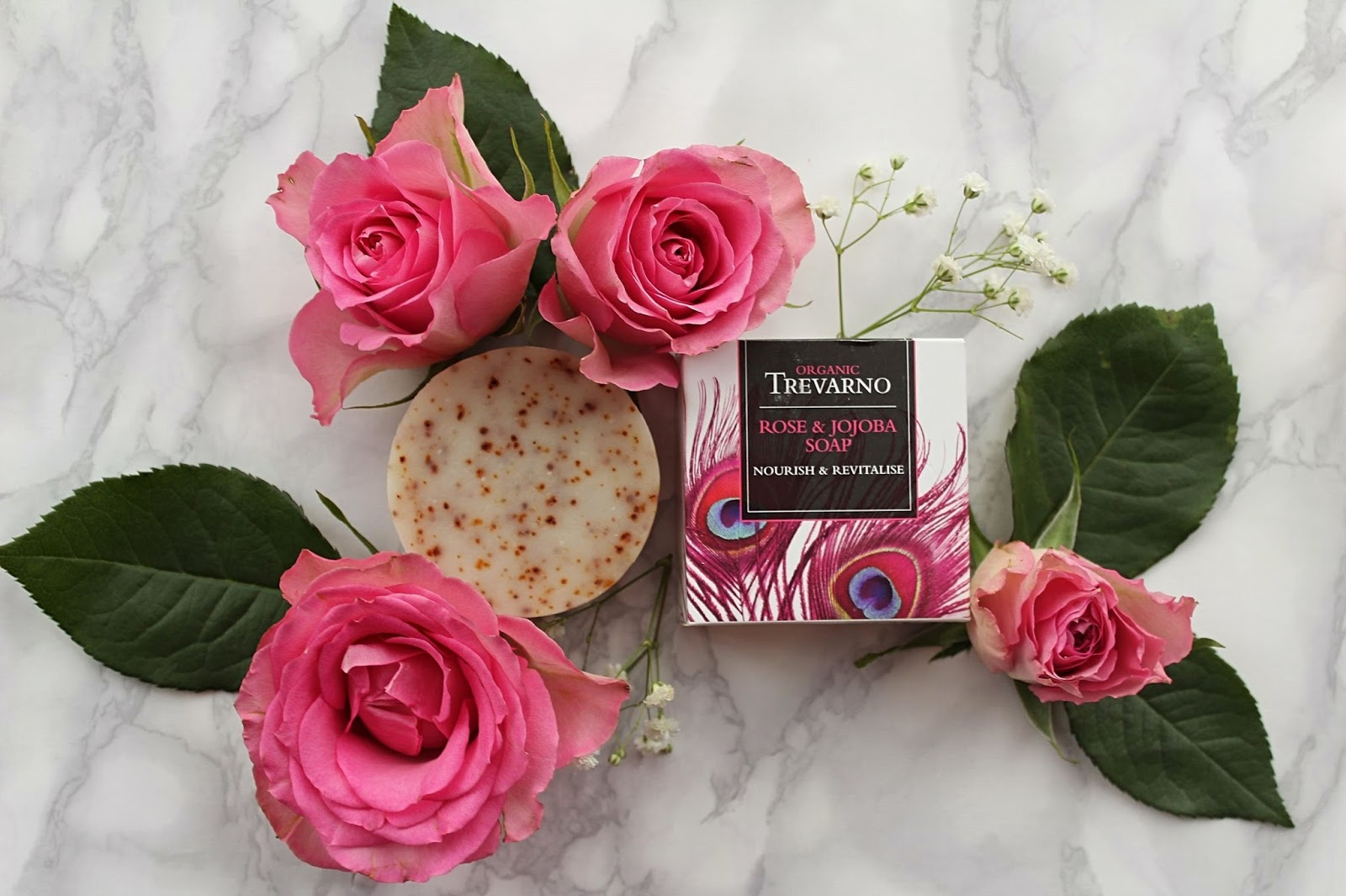 Beauty Basics – Trevarno Rose and Jojoba soap