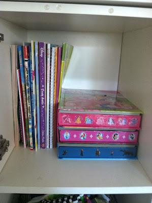 organizing art supplies