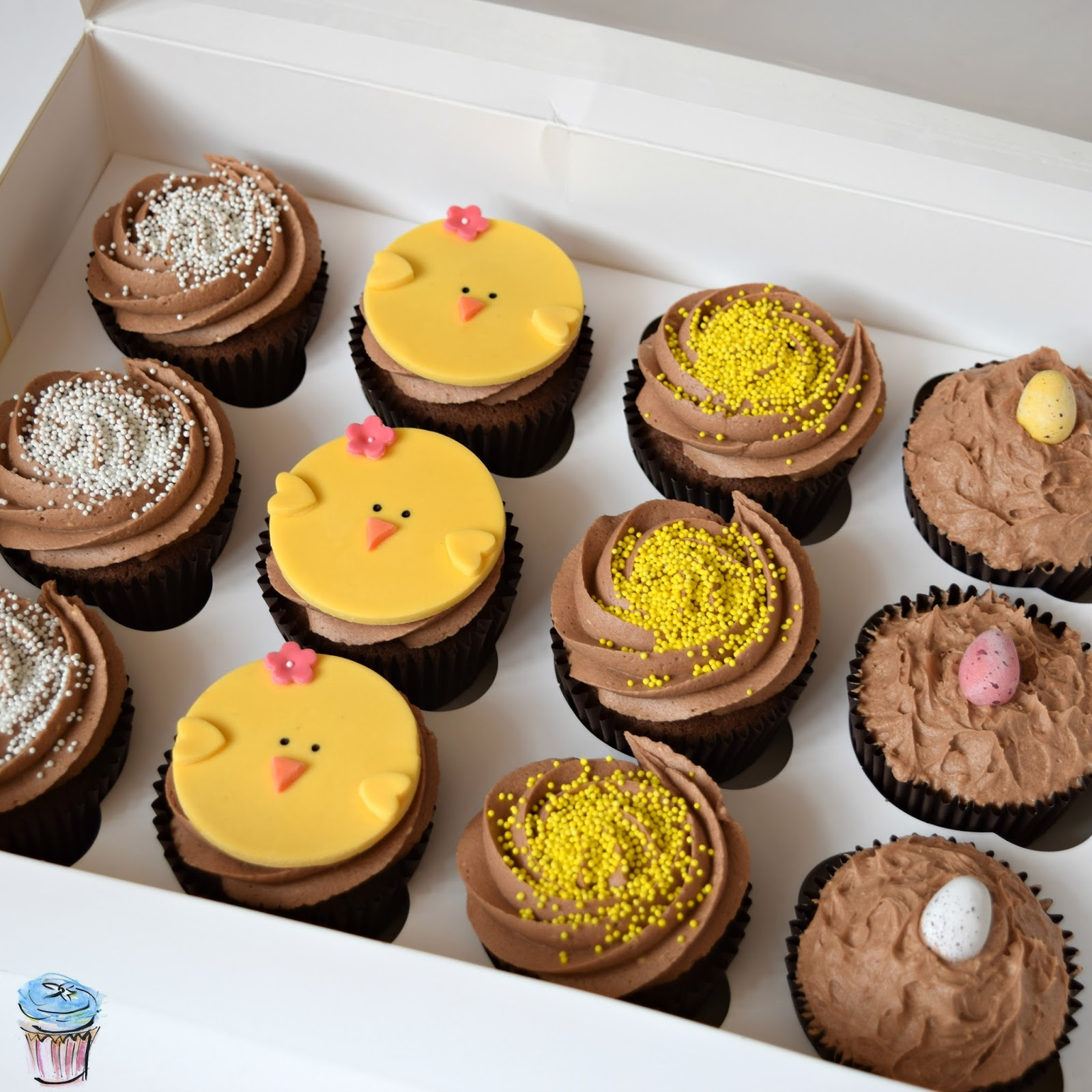 Cupcakes, Easter, Chocolate, Dairy Free, Hertfordshire, Cakes, Ideas, Recipes, Design