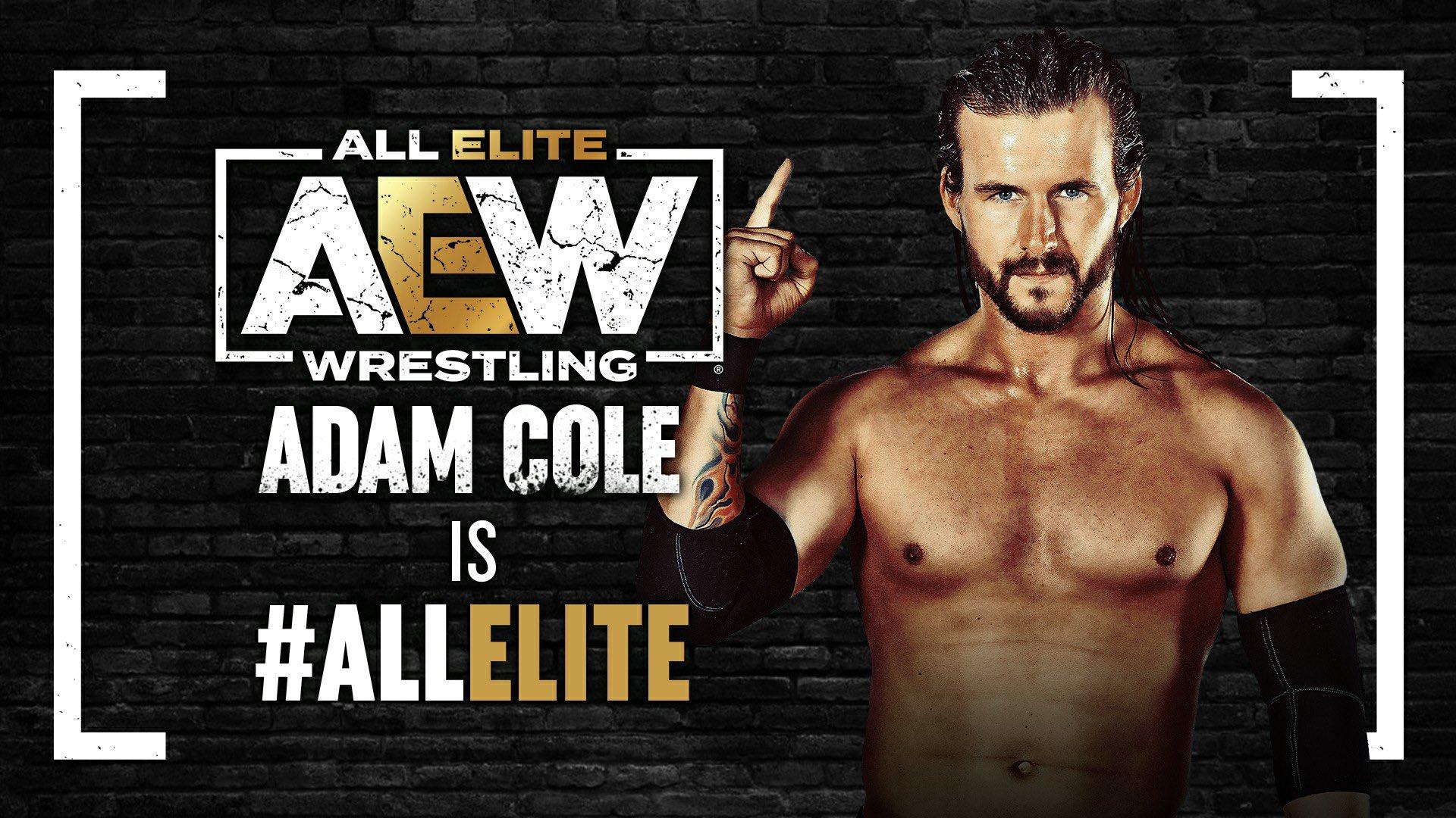 Adam Cole faz sua estreia durante o AEW All Out 2021