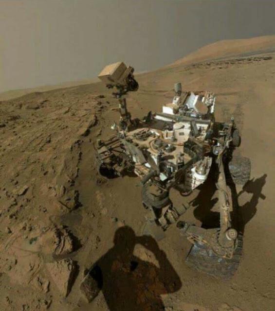 A curiosidade do homem está destruindo os sonhos da humanidade sobre Marte.