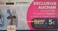 Logo I prodotti Paglieri ti regalano un buono spesa Auchan da 5€