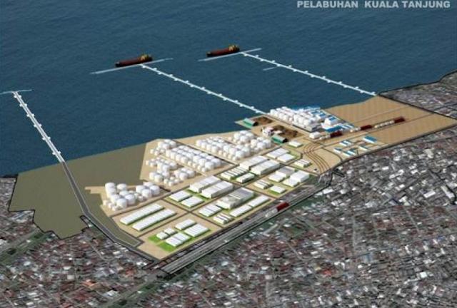 Pelabuhan Kuala Tanjung Kabupaten Batubara Sumatra Utara Bisa Rampung Tahun Ini.