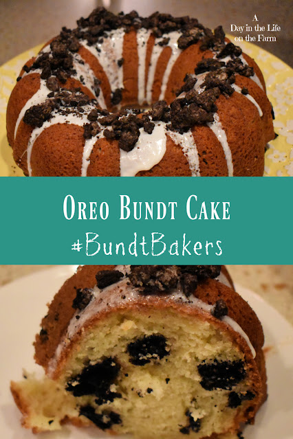 Oreo Bundt Cake pin