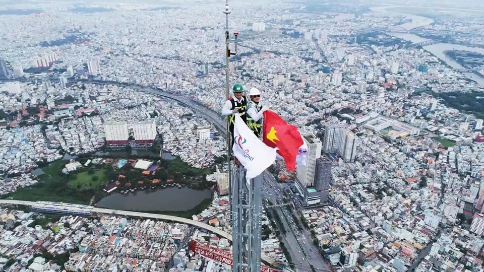 đỉnh tháp Landmark 81