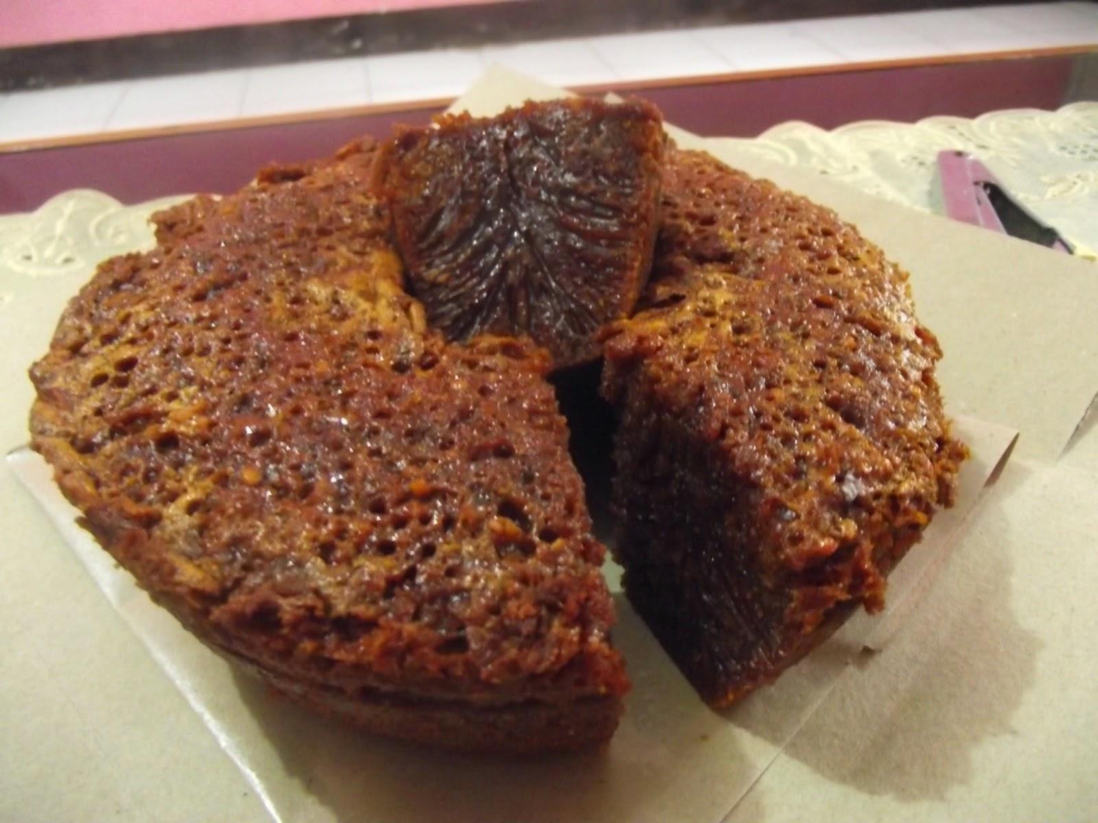 kek gula hangus mudah resepiu Resepi Kek Pisang Gula Hangus Enak dan Mudah