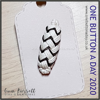 Day 335 : Knot Toggle - One Button a Day 2020 by Gina Barrett