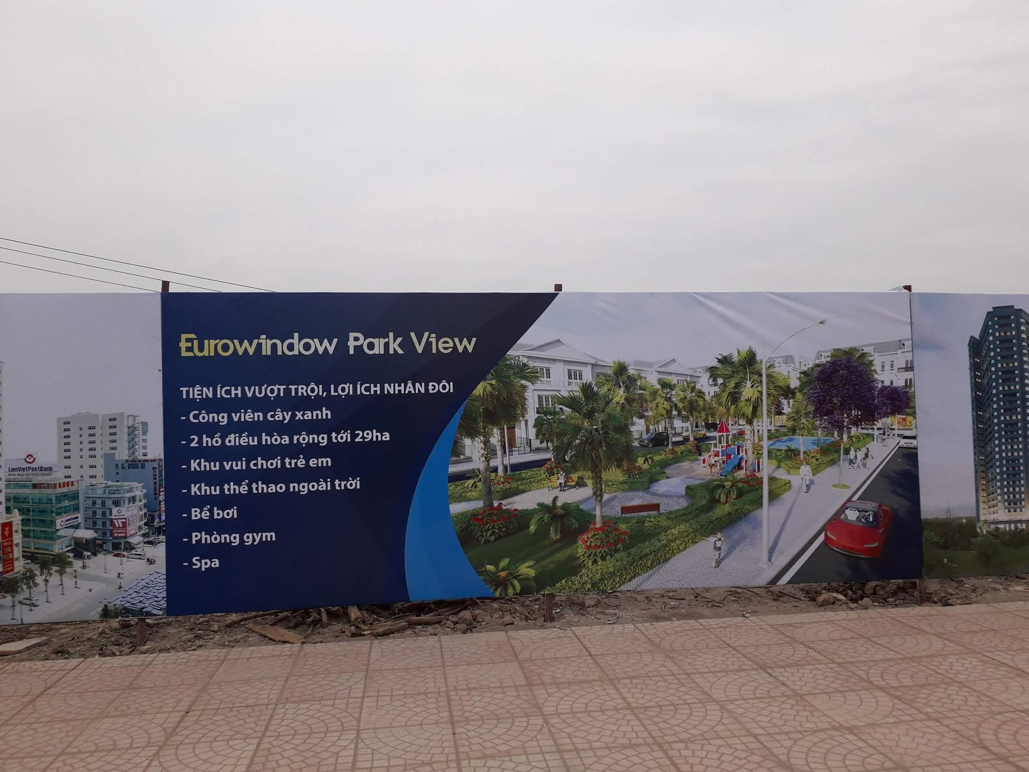 Hình ảnh khu đô thị Eurowindow Twin Parks những ngày đầu tiên.