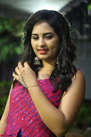 Srushti in beautiful Pink Sleeveless Dress Cute Actress Dimples ~  Exclusive 011.JPG