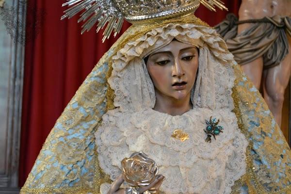 Horario e Itinerario Rosario Vespertino Virgen de la Luz. Huelva 18 de Septiembre del 2021
