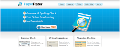 PaperRater Proof Reading tool