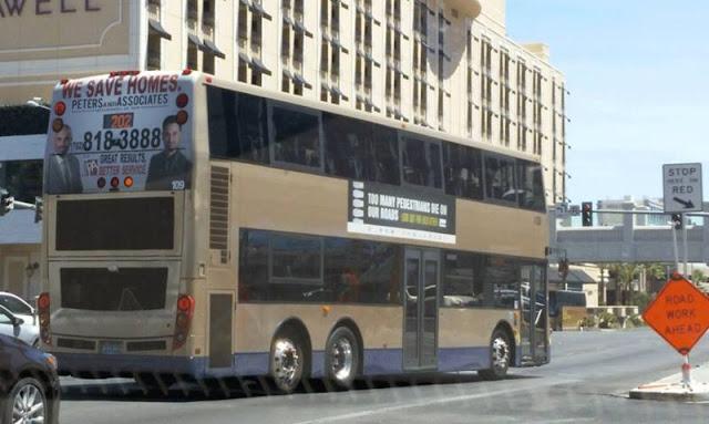 double deck bus las vegas