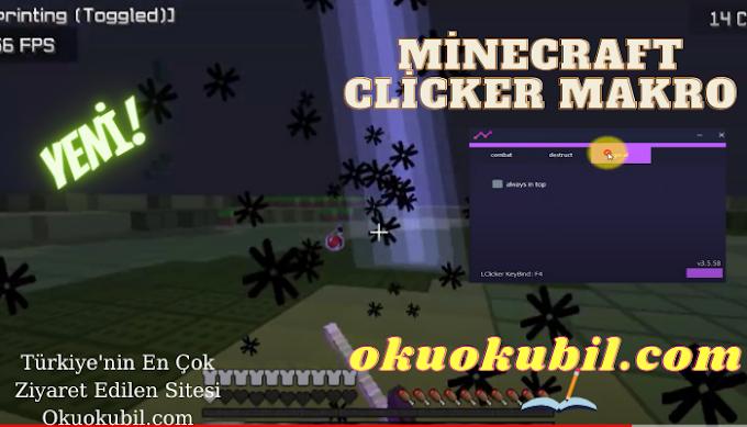 Minecraft Mye Clicker Jitter, Blatant, Right Clicker SonOyuncu 2021