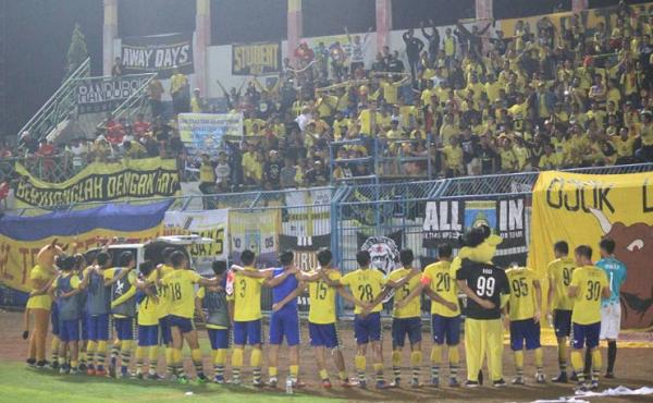 Lawan Sriwijaya FC, Perjuangan Persegres Keluar dari Zona Merah