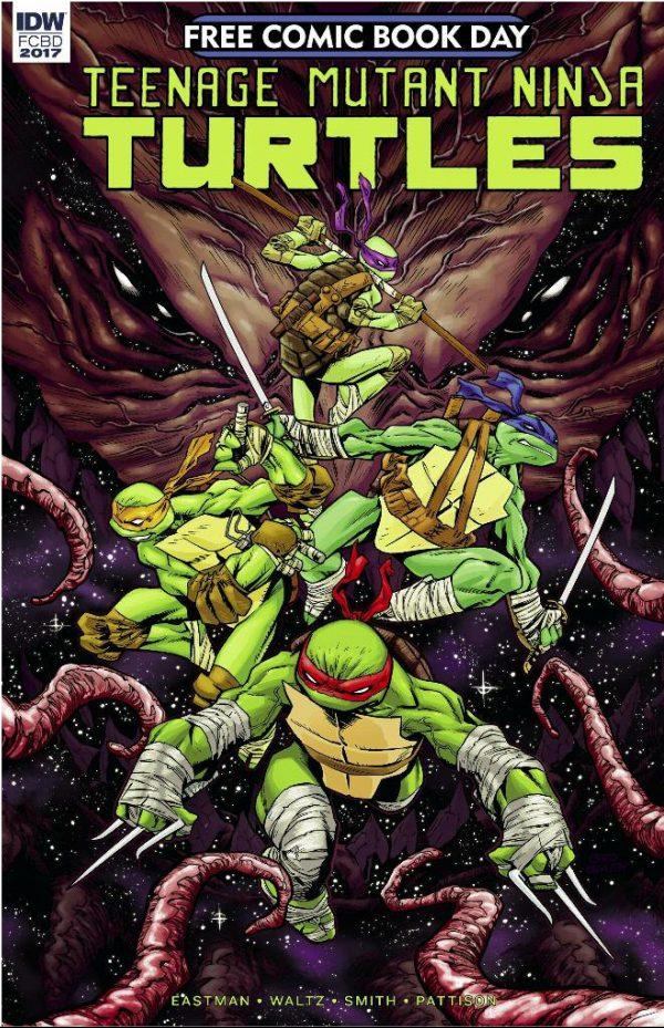 Teenage Mutant Ninja Turtles' Dimension X Comic Preview.