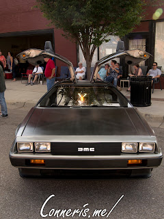 DMC Delorean Front