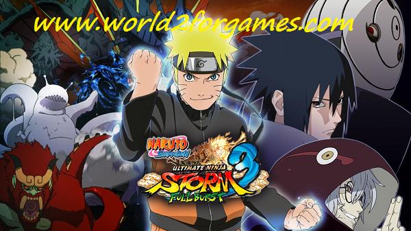 تحميل لعبة Naruto Sheppuden Ultimate Ninja Storm 3 للكمبيوتر