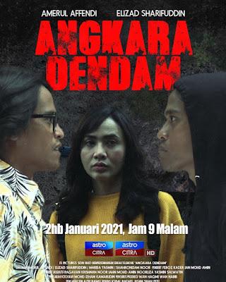 Telefilem Angkara Dendam, Telemovie Angkara Dendam, Poster Telefilem Angkara Dendam, Pelakon - Pelakon Telefilem Angkara Dendam,
