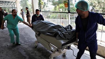 Tiga Pemboman Mengguncang Kabul Afghanistan, Menewaskan Selusin Orang