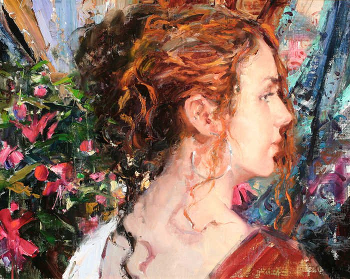 Jeffrey Watts 1970 | American Impressionist painter