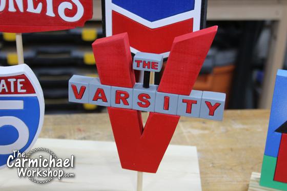 The Varsity Sign