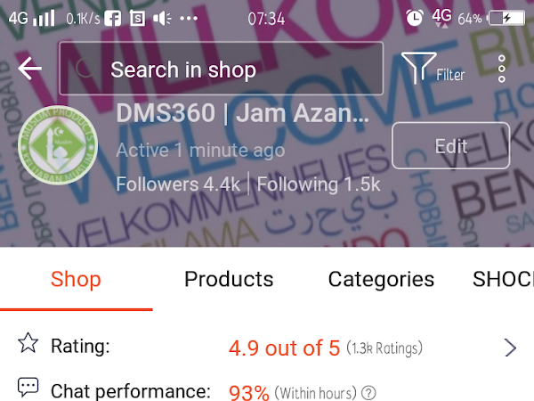 Cara Setting Shop Shocking Sale Shopee (SS)
