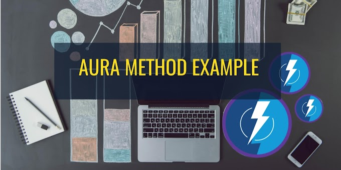 Aura method example in Salesforce lightning