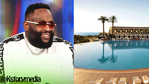 Rick Ross: Inside millionaire's huge mansion with 109 rooms and largest pool in the US (See Photos)