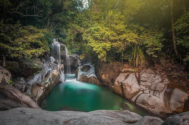 Lokasi Air Terjun Nyarai