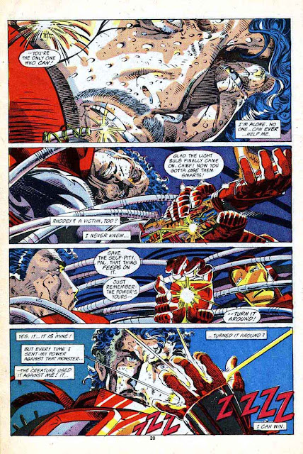 Iron Man v1 #232 marvel comic book page art by Barry Windsor Smith