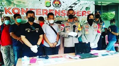Polresta Tangerang Kota Tangkap Dua Orang Pemalsu Surat Hasil Tes Swab Antigen