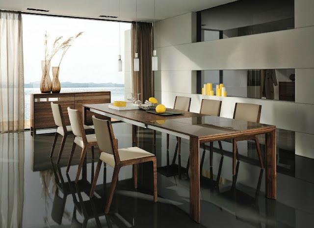 Meja Kursi Kayu Ruang Makan