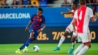 Barcelona rejects loan offers for highly-talented Ilaix Moriba