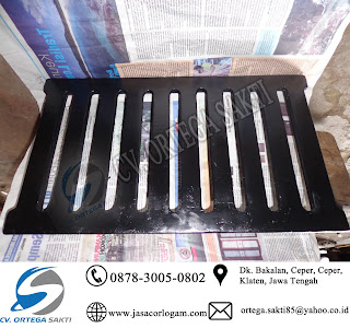 Grill inlet drainase