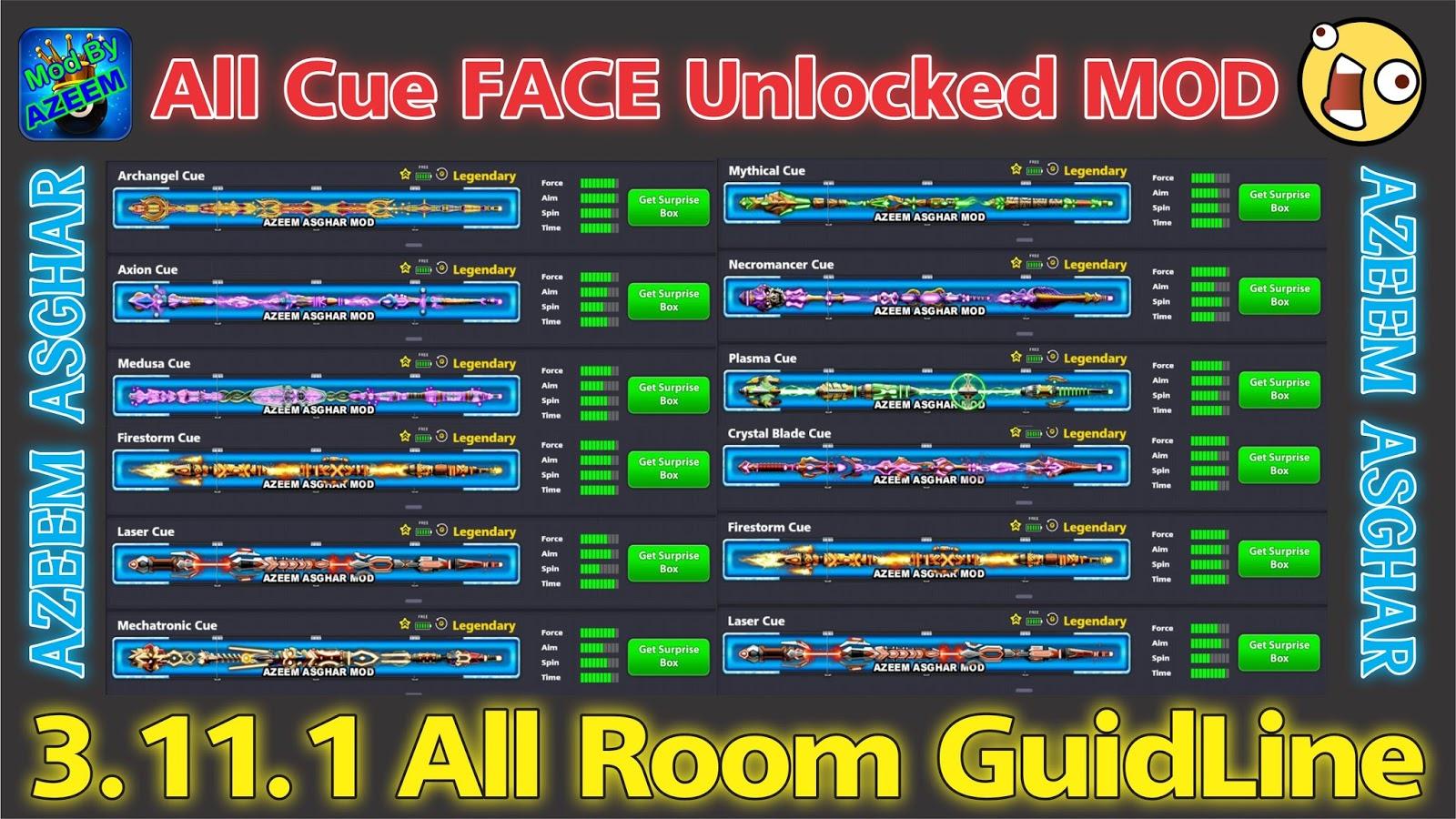 8 ball pool legendary cues mod apk download 4.0.2